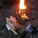 Kuchenka survivalowa z ociekacza. Jak zrobić? survival kuchenka z puszki kuchenka turystyczna kuchenka survivalowa gotowanie DIY