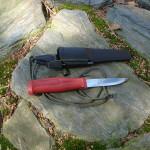 Modyfikacje noża Mora Craftline survival nóż survivalowy nóż mora nóż mora craftline mora modyfikacja DIY custom mora