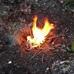 Dakota fire hole. Ognisko w dziurze. survival ogień jak rozpalić ognisko gotowanie bushcraft