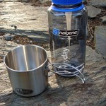Praktyczny zestaw wyprawowy. Kubek GSI Glacier i butelka Nalgene Everyday. kubek gsi glacier bulelka nalgene bidon nalgene