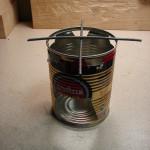 Kuchenka survivalowa z puszki. survival kuchenka z puszki kuchenka survivalowa kuchenka gotowanie DIY