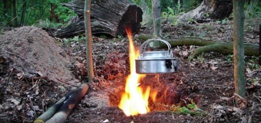 ognisko dakota fire hole survival1 520x245 - Film. Jak zrobić ognisko DAKOTA FIRE HOLE?
