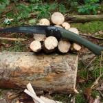 Składana piła survivalowa Laplander. Test. survival składana piła piła survivalowa piła bushcraft bahco laplander