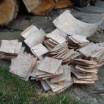 Lauri Carbon w korze brzozowej, czyli jak zrobić nóż? rękojeść z kory brzozowej nóż lauri carbon jak zrobić nóż DIY
