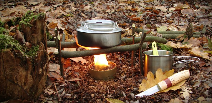 buddy burner kuchenka survivalowa 1 - Buddy burner. Kuchenka, ogrzewacz, lampa na sytuacje awaryjne.
