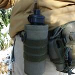 kieszen custom na bidon 2 150x150 - Taktyczna nerka Baribal i lekki zestaw EDC do lasu.