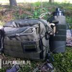 kieszen custom na bidon 3 150x150 - Taktyczna nerka Baribal i lekki zestaw EDC do lasu.