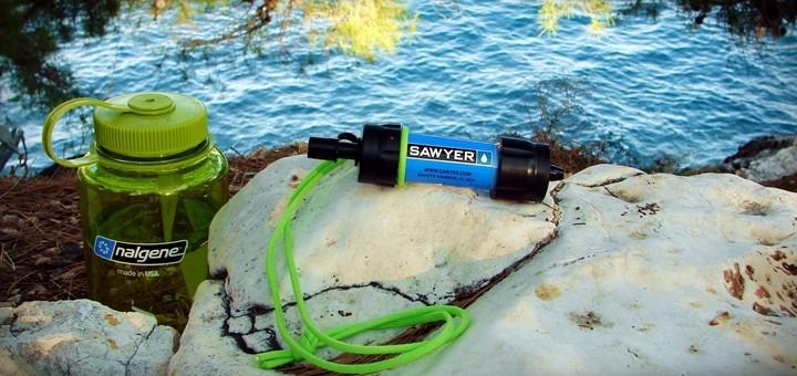 filtr sawyer mini baner 720x340 - Filtr Sawyer Mini Sp-128 i tabletki Javel Aqua. Jak oczyścić wodę?