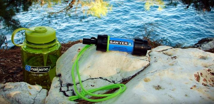 filtr sawyer mini baner - Filtr Sawyer Mini Sp-128 i tabletki Javel Aqua. Jak oczyścić wodę?