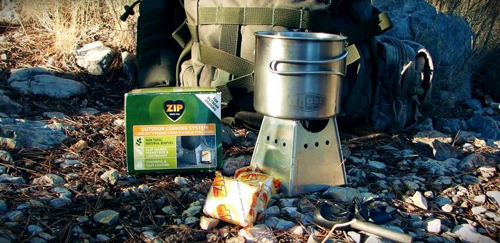 Składana kuchenka survivalowa Boilex Pyramid Stove na paliwo ZIP Military paliwo zip military kuchenka turystyczna kuchenka survivalowa boilex