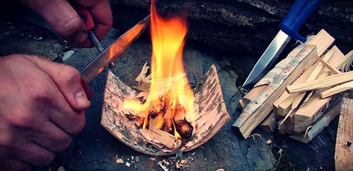 jak rozpalic ogien krzesiwem - Jak rozpalić ogień za pomocą krzesiwa?