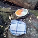 Zwęglona bawełna   idealna rozpałka do krzesiwa tradycyjnego rozpałka krzesiwo tradycyjne krzesiwo hubka