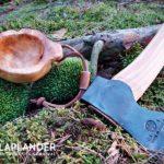 Kuksa z czeczoty brzozowej. Jak wyrzeźbić kuksę? rzeźbienie rękodzieło bushcraft