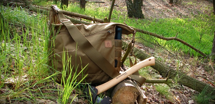 helikon bushcraft satchel baner - Helikon Bushcraft Satchel - Torba bushcratowa na wycieczki nie tylko do lasu.