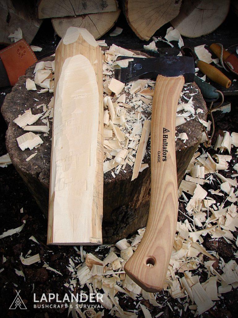 brzoza10 768x1024 - Jak wyrzeźbić łyżkę bushcraftową?
