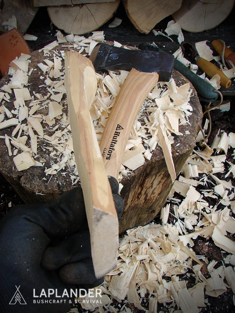 brzoza12 768x1024 - Jak wyrzeźbić łyżkę bushcraftową?