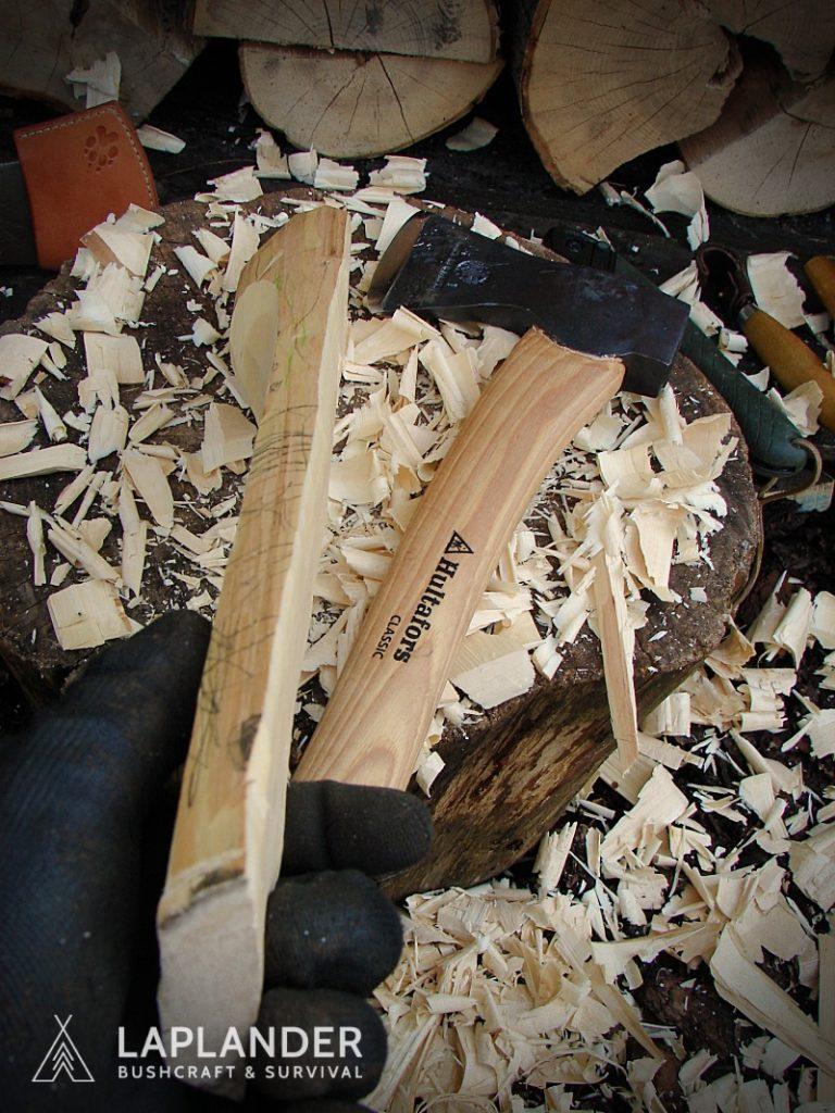 brzoza14 768x1024 - Jak wyrzeźbić łyżkę bushcraftową?